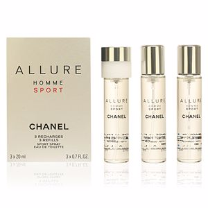 Chanel ALLURE HOMME SPORT replacements 3 x 20 60 ml
