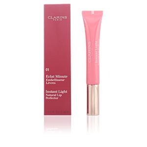 Clarins ECLAT MINUTE embellisseur lèvres #01-rose shimmer
