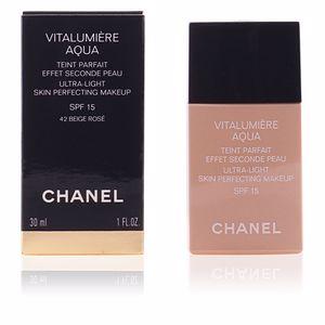 Chanel VITALUMIÈRE AQUA teint parfait #42-beige rosé