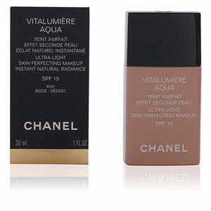 Chanel VITALUMIÈRE AQUA teint parfait #40-beige désert