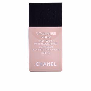 Chanel VITALUMIÈRE AQUA teint parfait #50-beige senne