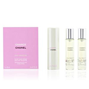 Chanel CHANCE EAU FRAICHE eau de toilette purse spray twist & spray 3 x 20 ml