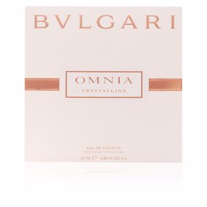 Bvlgari OMNIA CRYSTALLINE eau de toilette spray satin pouch 25 ml