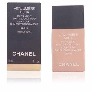 Chanel VITALUMIÈRE AQUA teint parfait #22-beige rosé