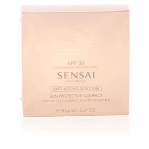 Kanebo SENSAI SILKY BRONZE sun protective compact SPF30 #SC01