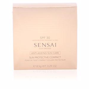 Kanebo SENSAI SILKY BRONZE sun protective compact SPF30 #SC02