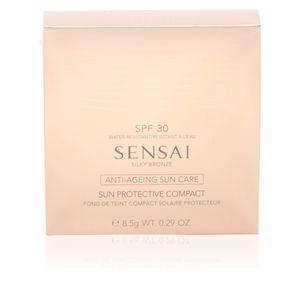 Kanebo SENSAI SILKY BRONZE sun protective compact SPF30 #SC03