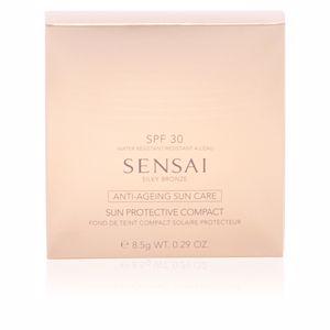 Kanebo SENSAI SILKY BRONZE sun protective compact SPF30 #SC04