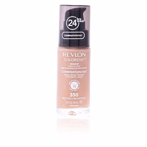 Revlon Make Up COLORSTAY foundation combination/oily skin #350-rich tan