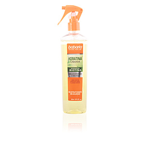 Babaria NATURAL HAIR LINE keratina líquida reforzada biotina 300 ml