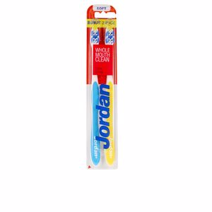 JORDAN TOTAL CLEAN cepillo dental #suave 2 uds