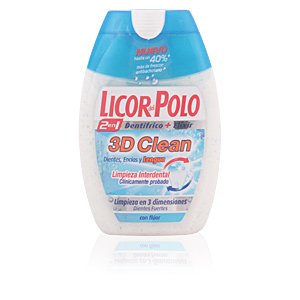 Licor Del Polo 3D CLEAN 2en1 dentífrico 75 ml