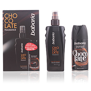 BABARIA MEN CHOCOLATE FRAGANCE LOTE