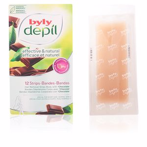 Byly DEPIL bandas corporales chocolate 12 uds