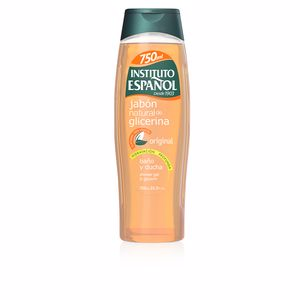 Instituto Español soap NATURAL GLICERINA baño y ducha 750 ml