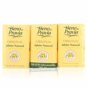 Heno De Pravia ORIGINAL soap set