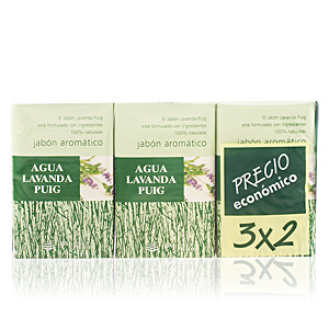 AGUA LAVANDA PUIG soap set