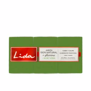 Lida JABÓN 100% NATURAL GLICERINA Y ALOE VERA set