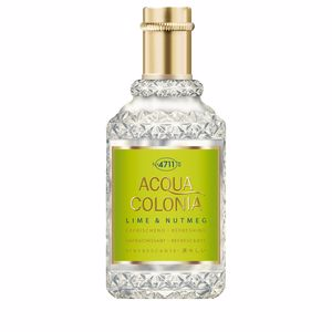 4711 ACQUA COLONIA Lime & Nutmeg eau de cologne splash & spray 50 ml