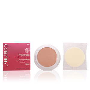 Shiseido SHEER & PERFECT compact foundation refill #B60-deep beige