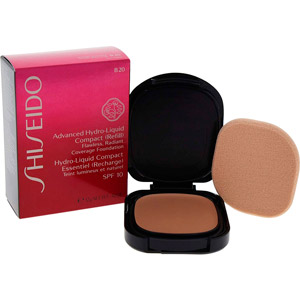 Shiseido ADVANCED hydro-liquid compact refill #B60-deep beige