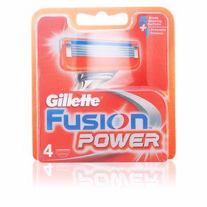 Gillette FUSION POWER cargador 4 recambios