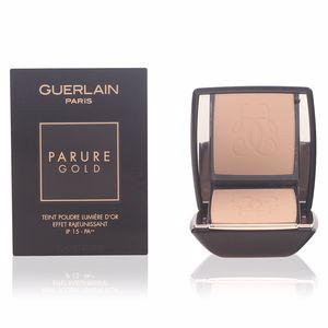Guerlain PARURE GOLD teint podre lumière d'or #01-beige pâle