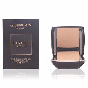 Guerlain PARURE GOLD teint podre lumière d'or #02-beige clair
