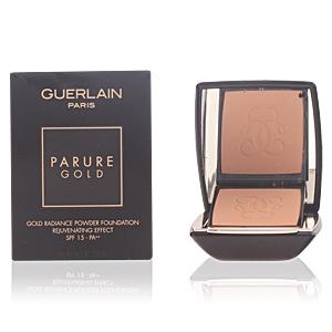 Guerlain PARURE GOLD teint podre lumière d'or #04-beige moyen