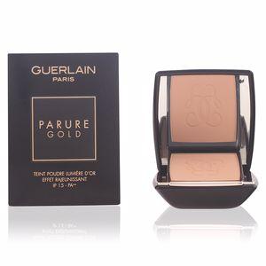 Guerlain PARURE GOLD teint podre lumière d'or #12-rose clair