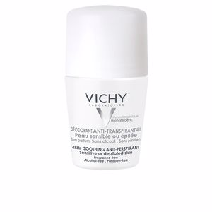 deodorant anti-transpirant 48h peaux sensibles roll-on 50 ml