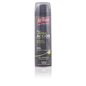 La Toja gel AFEITAR TRIPLE ACCIÓN piel sensible 200 ml