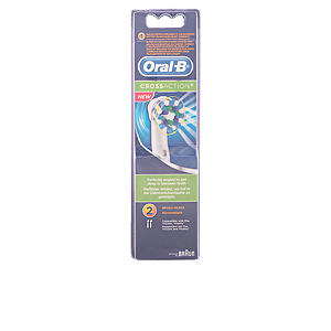 Oral-b CROSS ACTION cabezales 2 uds
