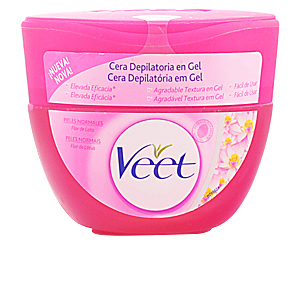 Veet CERA DEPILATORIA en gel flor de loto piel normal 250 ml