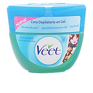 Veet CERA DEPILATORIA en gel aceite almendras piel sensible 250ml