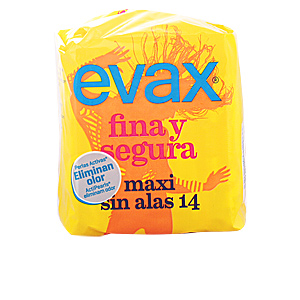 Evax FINA&SEGURA compresa maxi sin alas 14 uds