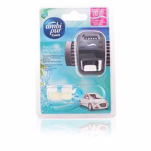 Ambi Pur CAR ambientador aparato + recambio #aqua 7 ml
