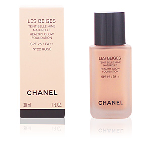 Chanel LES BEIGES teint belle mine naturelle SPF25 #22-rosé