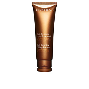 Clarins SOLAIRE LAIT FONDANT auto-bronzant hydratation 24h 125 ml