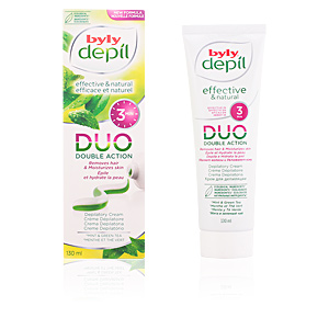 Byly DEPIL DUO crema depilatoria menta y té green PS 130 ml