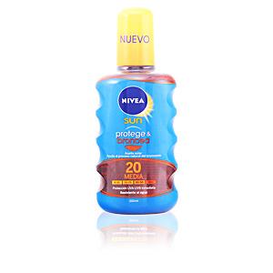 SUN PROTEGE&BRONCEA aceite SPF20 200 ml