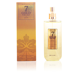 Luxana SEVEN GOLD eau de toilette spray 200 ml