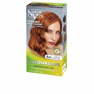Naturaleza Y Vida COLOURSAFE tinte permanente #6.43-avellana 150 ml