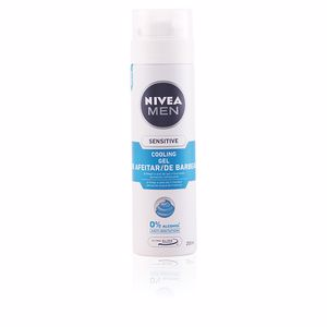 Nivea MEN SENSITIVE COOL gel afeitar 0% alcohol 200 ml