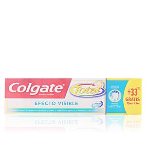 Colgate TOTAL EFECTO VISIBLE pasta dentífrica 75 ml + 33%