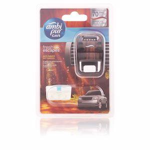 Ambi Pur CAR ambientador aparato + recambio #anti-tabaco 7 ml