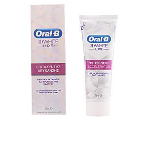 Oral-b 3D WHITE LUXE pasta dentífrica acelerador blanqueamiento 75m