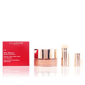 Clarins SKIN ILLUSION powder #112-amber