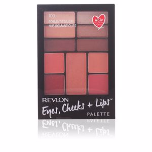 Revlon Make Up PALETTE eyes, cheeks + lips #100-romantic nudes