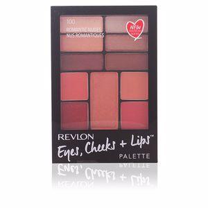 Revlon Gran Consumo PALETTE eyes, cheeks + lips #100-romantic nudes